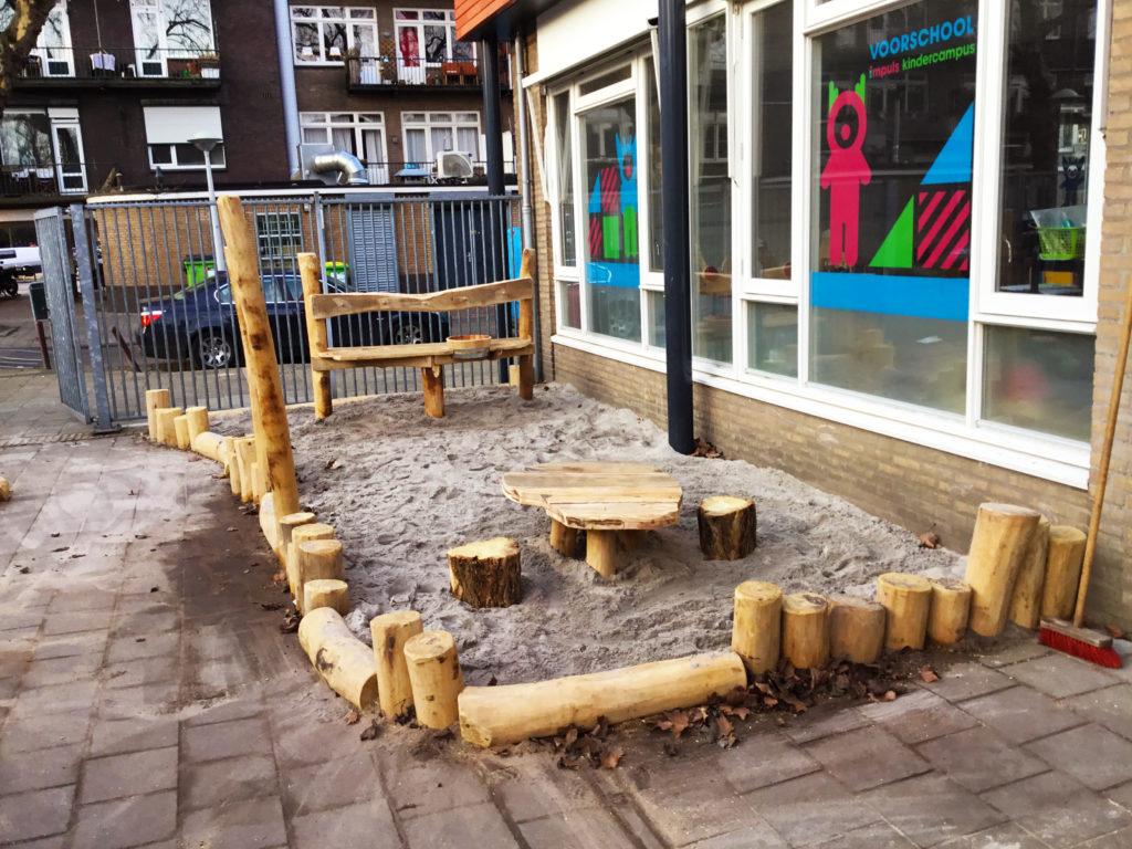 zandbak schoolplein amsterdam